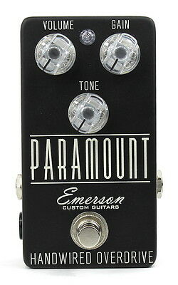 EMERSON CUSTOM GUITARS Paramount Overdrive Pedal
