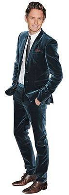 Eddie Redmayne Cardboard Cutout (life size OR mini size). Standee. Stand Up.