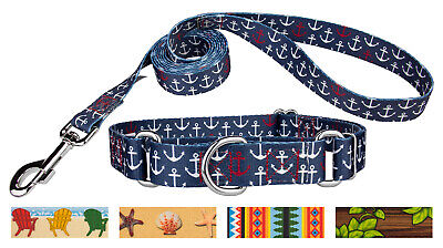 Country Brook Design® Martingale Collar & Leash - Summer Breeze Collection