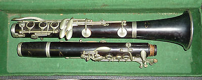 Antique rene duval clarinet SOLD AS SEEN
