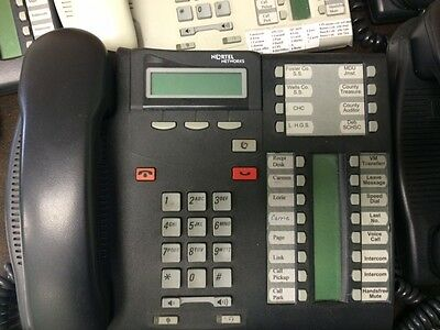 Nortel Norstar Compact ICS Office Phone System with Voicemail and 5 phones