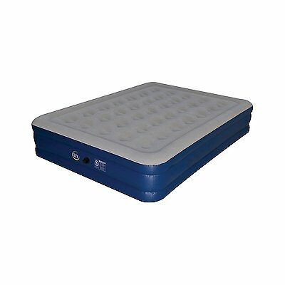 """Serta Perfect Sleeper Raised Queen 18"""" Inflatable Mattress Free Shipping NEW"""