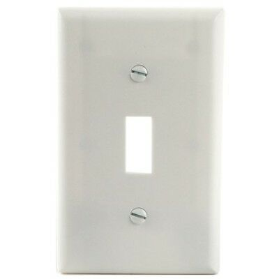 One Gang Switch Plate, 10 Pk
