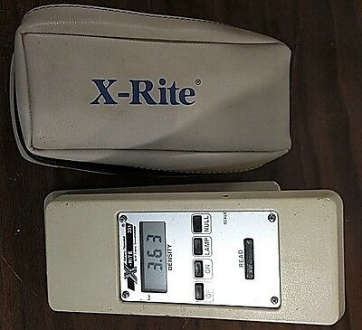 X-Rite 331 Battery Operated Black & White Densitometer W/ New Batteries
