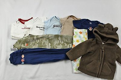 Lot of 9 Baby Boy Items size 3-6 months