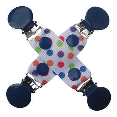 CuteToots Mitten clips/ Glove clips / hat clips for kids, adults: spotty dotty