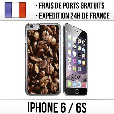 Coque iPhone 6 et 6S - Grains de Café