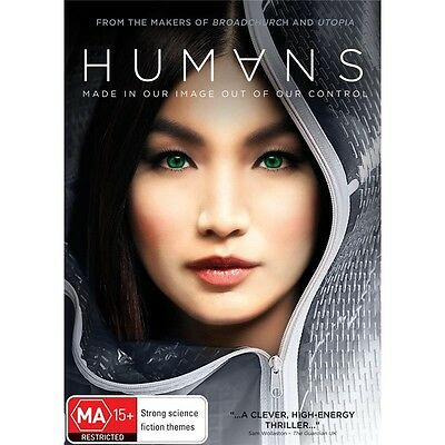 HUMANS-Series 1-Region 4-New AND Sealed-3 Disc Set-TV Series