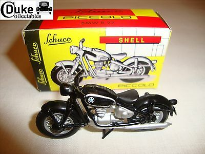 SCHUCO PICCOLO BMW R27 MOTORCYCLE - NEAR MINT in BOX