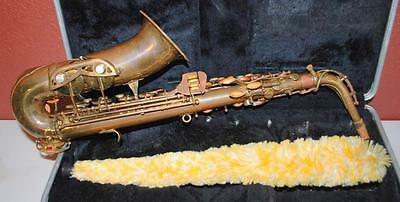 Vintage Conn Usa Alto Saxophone With Mother Of Pearl Accents +Case