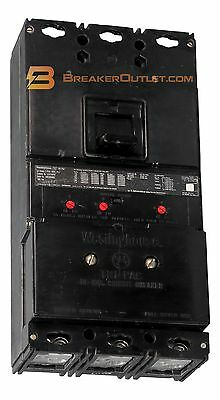 LA3400PRF Tri-Pac Fused 400A Comp Circuit Breaker Westinghouse Ships Same Day
