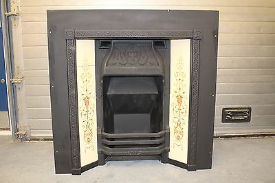 Vintage Victorian Style Open Fireplace No Dog Grate