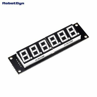 Digit LED Display Tube, 7-segments,74HC595, WHITE Color for Arduino Monitoring A