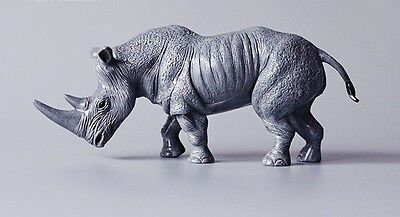 RARE SOL90 Rhino Rhinoceros Animal PVC Figurine Figure Model no tag