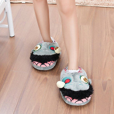 Creative Zombie Plush Slippers Big Zombie Slippers Monsters Funny Slippers CC