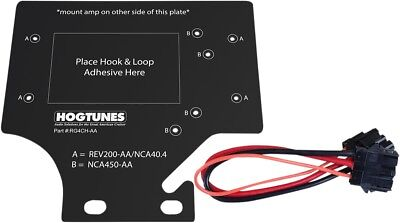 Hogtunes Amp Adapter Kit #RG4CH-AA