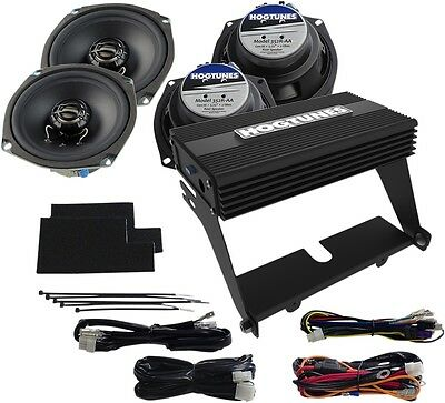 Hogtunes Amp/Front And Rear Speaker Kit #NCA450U-KIT-AA