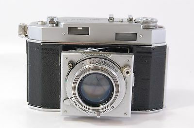 viewfinder camera Agfa Karat 36 with Solagon 50mm F2 Ref.2111620