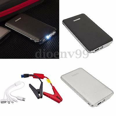 30000mAh 12V Car Jump Starter LED Charger Backup Battery Power Emergency Booster