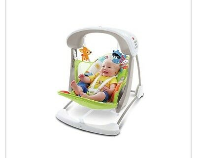 Fisher-Price Woodland Friends Take-Along Baby Swing. BRAND NEW NEVER OPENED