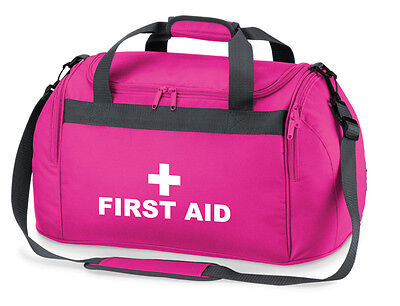 1 x FIRST AID  Pink Holdall/Work Bag Paramedic Ambulance Medic First Responder
