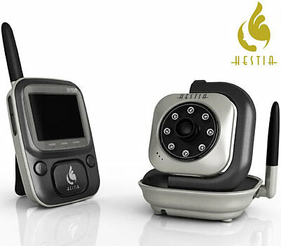 Hestia H100 Digtial Wireless Baby Monitor with Night Vision - Metallic Grey