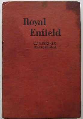 Royal Enfield by C A E Booker - Motor Cycle Maintenance and Repair Series - 1949
