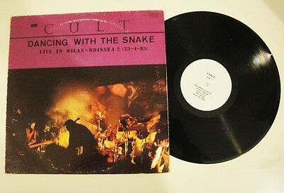 THE CULT - DANCING WITH THE SNAKE Live in Milan LP RARE Ian Astbury Limited GOTH