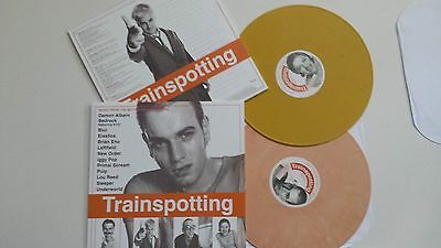 TRAINSPOTTING Soundtrack OST 2LP COLOURED VINYLS 2 LP RARE LIMITED