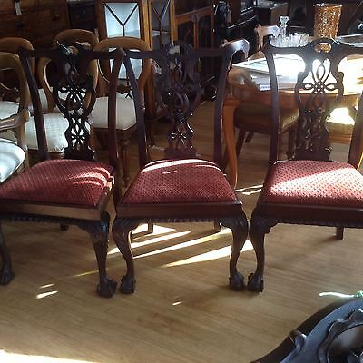 Vintage Gothic Dining Chair (3 Available)