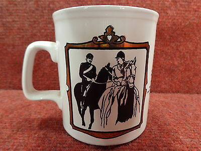 Black Gold White Princess Anne & Mark Phillips Wedding MUG 1973 - FREE POSTAGE