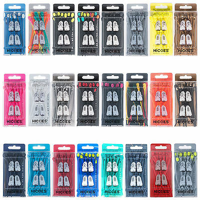 14 Hickies No Tie Shoe Lace Replacement Responsive Lacing System Genuine Slip-On