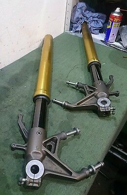 Kawasaki Zx10r Zx10 C1H C2H 2004 2005 Front Forks