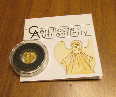 Certificate Of Authenticity * Republic Of Palau * Golden Angel .999