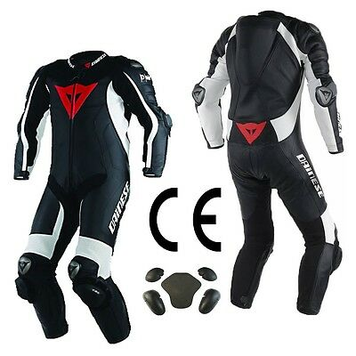 Daine Motorbike Motorcycle Leather Suit Racing Leather Suit CE Approved