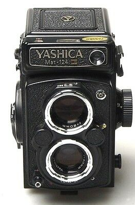 Yashica MAT 124 G 6x6 TLR