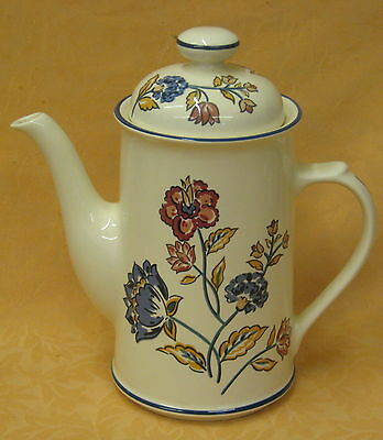 UNUSED Boots Camargue Oven to Tableware Tall Coffee Pot Made in England