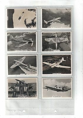 Flying.Issued by Senior Service/Pattreiouex 1938.Full set of 48 in sleeves