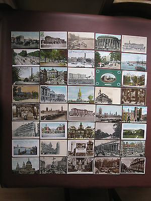 London - collection of over 400 vintage / old post cards - see pictures