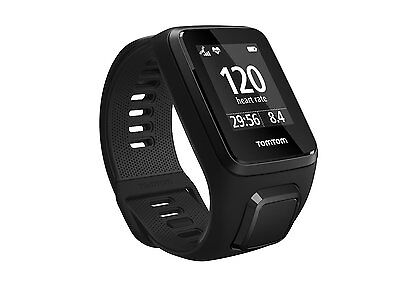 New TomTom Spark 3 Multi Sport GPS Fitness Watch Unisex Watch with Music - Black