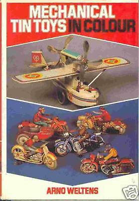 MECHANICAL TIN TOYS IN COLOUR von Weltens !! SALE !!