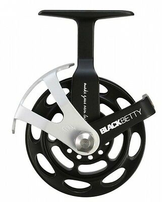 13 Fishing 2015 Black Betty In Line Ice Fishing Reel Left or Right Hand BB2015