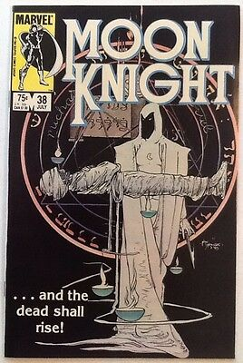Moon Knight #38 VF/NM 9.0 Marvel 1984 Last Issue Mike Kaluta Cover