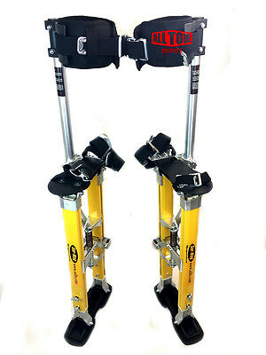 "Sur Pro SP Single Pole Magnesium Drywall Stilts 24-40"" - Large SP-2440MP"