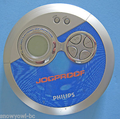 Vintage,PHILIPS JOGPROOF,PERSONAL CD PLAYER,JOG PROOF,++++++,SBCHS383 H.PHONES..