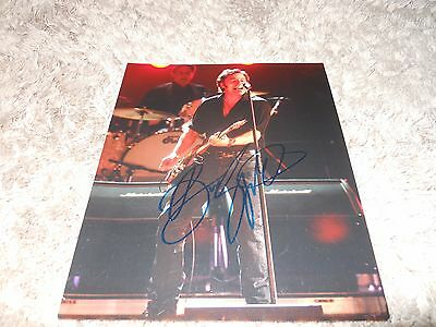 BRUCE SPRINGSTEEN SIGNED PHOTO [obtained in person]