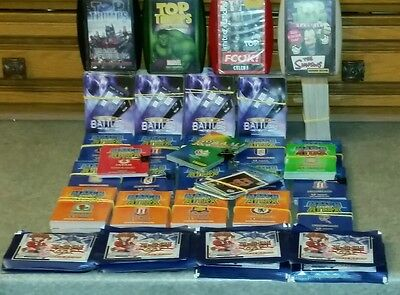 Job Lot /bundle Cards Stickers Top Trumps Match Attax Dr Who Battles In Time