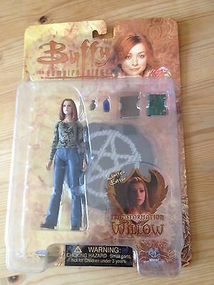 "Buffy 6"" figure Limited Edition Transformation Willow  BTVS vampires Hannighan"