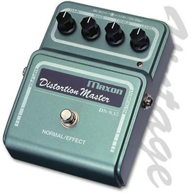 Maxon DS-830 Distortion Master Effect Pedal