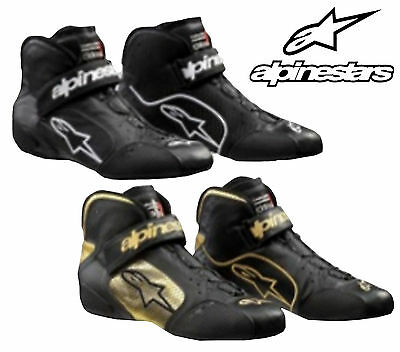 Alpinestars Tech 1-Z Boots FIA Approved for Oval / Rally / Autograss Racing